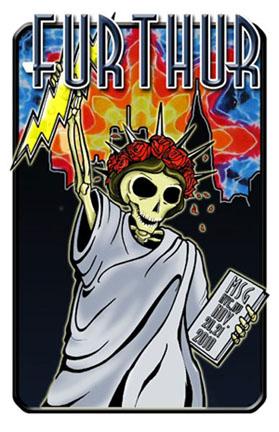 Grateful Dead Furthur Madison Square Garden 2010 Poster Woodstock Trading Company