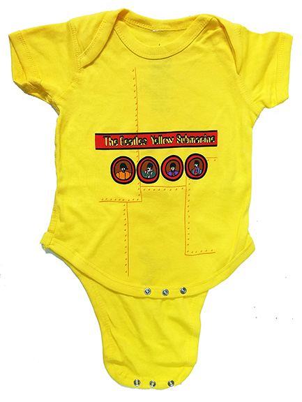 The Beatles Yellow Submarine Onesie Woodstock Trading Company