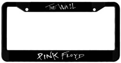 Pink Floyd The Wall License Plate Frame Woodstock Trading