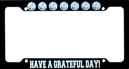 Grateful Dead License Plate Frame