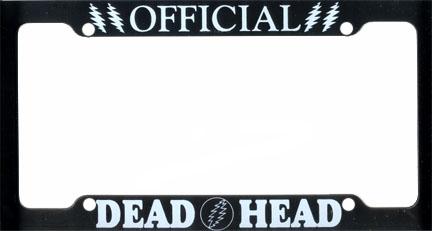 Grateful Dead Deadhead License Plate Frame Woodstock