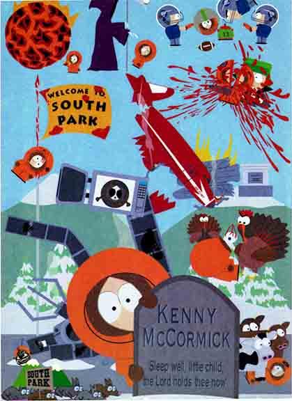 South Park Kenny's Dea...